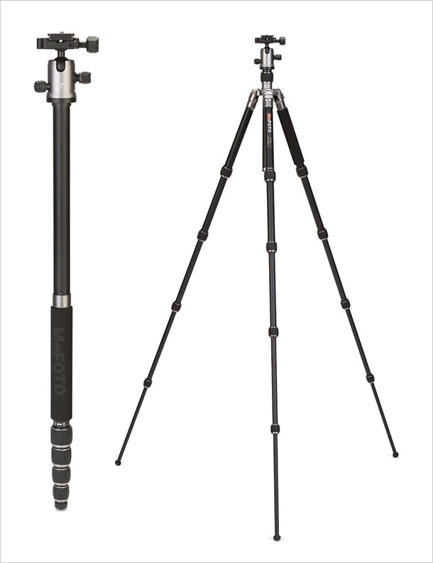 MeFoto-A1350Q1T-Roadtrip-Travel-Tripod-Kit-Titanium-2