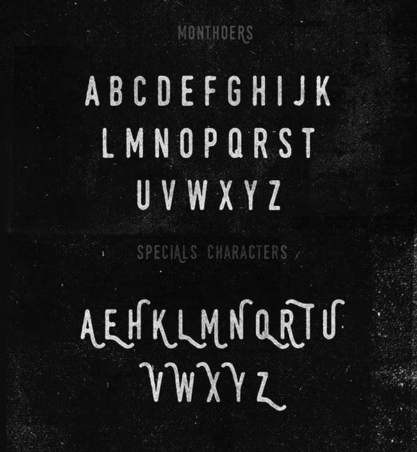Monthoers-Free-Handmade-Font-2