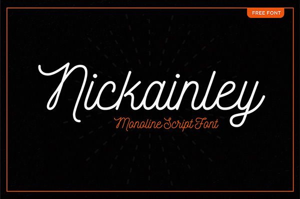 Nickainley-Free-elegant-script-Font