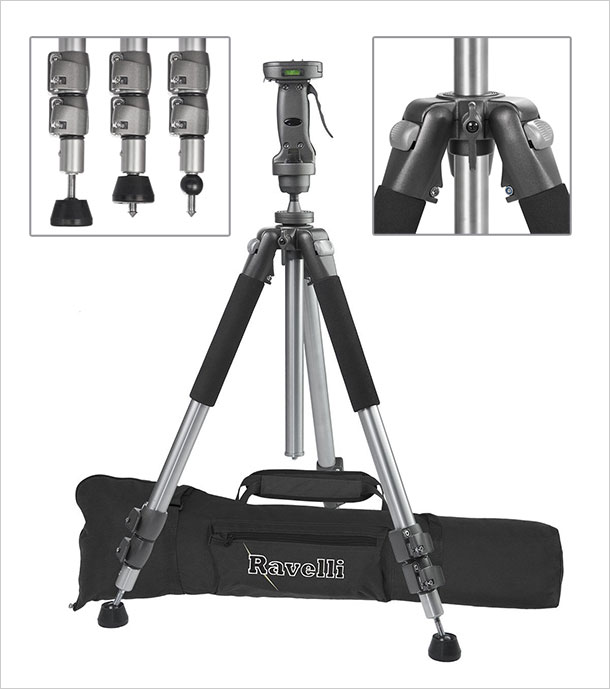 Ravelli-APGL4-New-Professional-70-inches-Tripod