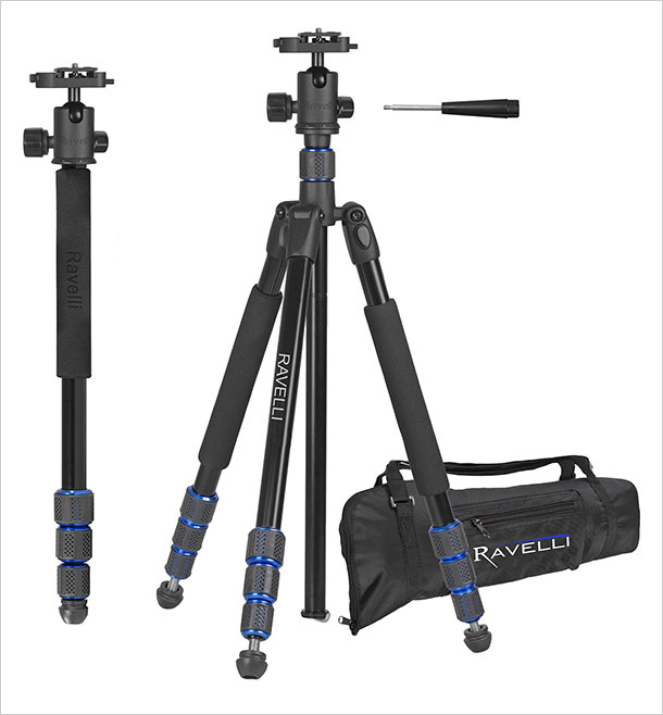 Ravelli-Professional-Ball-Head-DSLR-Camera-Photo-Tripod-for-Travel