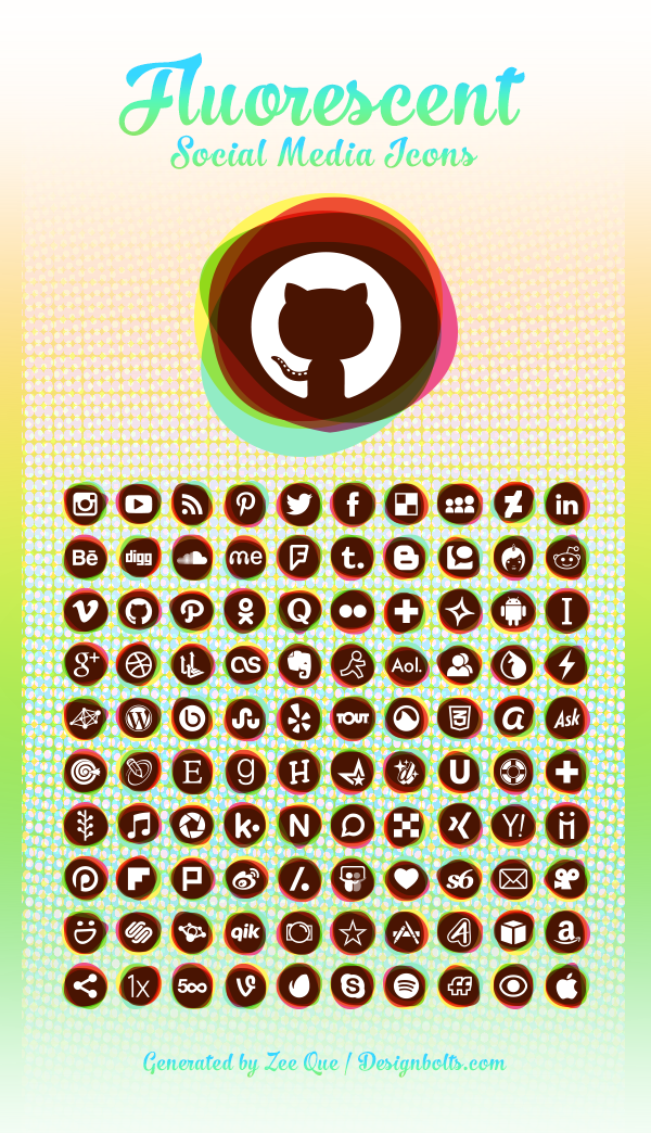 150-Fluorescent-Free-Social-Media-icons