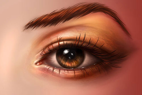 Beautiful-Eyes-Digital-Painting-Photoshop-Tutorial