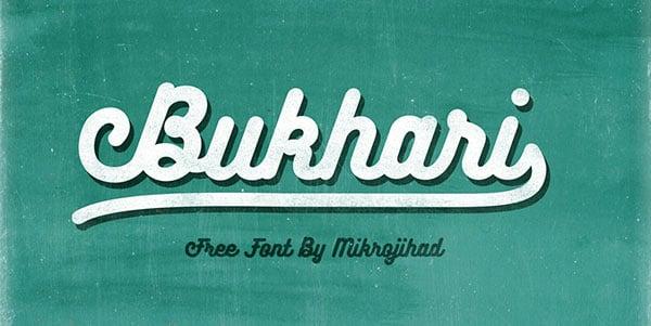 Bukhari-Script-Free-Font-Download