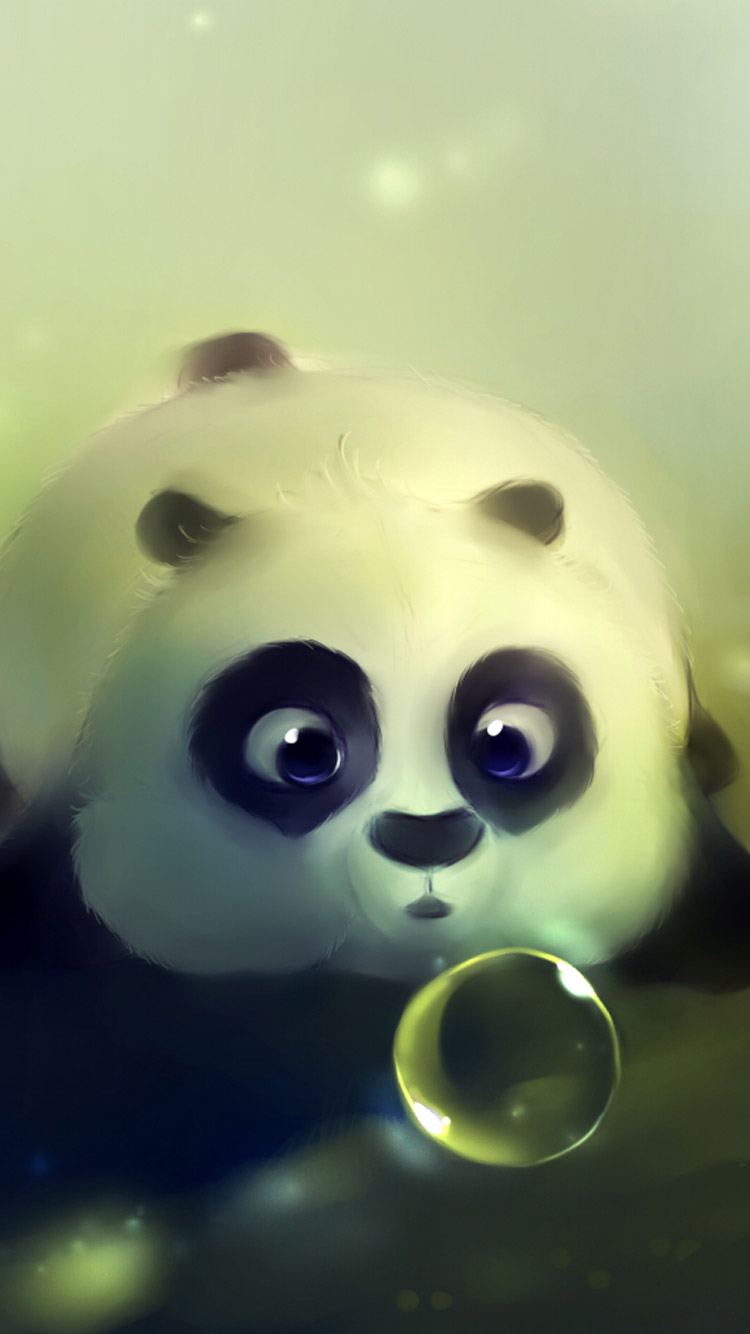 Cute Panda Iphone 6 Wallpaper