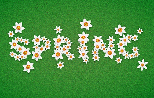Daffodil-Text-Effect-Illustrator-Tutorial