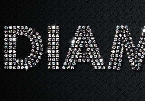 Diamonds-Text-Effect-Adobe-Photoshop-CS6-Tutorial
