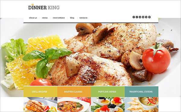 Dinner_King_wordpress-theme