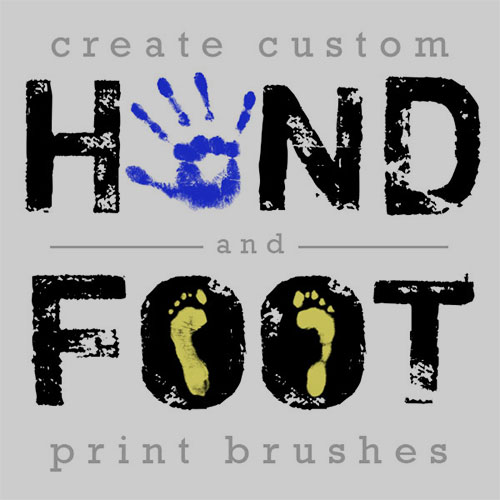 Hand-and-Foot-Impression-Photoshop-Tutorial