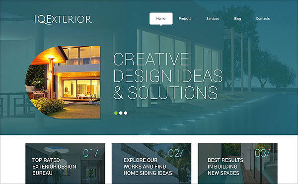 IQ_Exterior-wordpress-theme