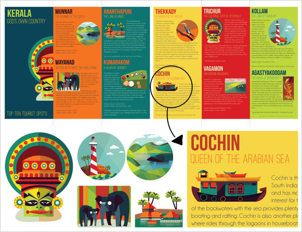 18 beautiful examples of pamphlet amp leaflet designs