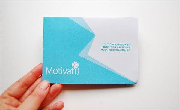 Motivati-pamphlet
