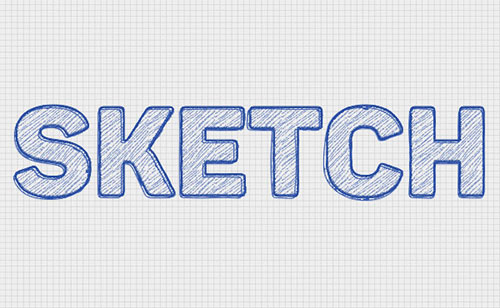 Sketch-Text-Effect-Photshop-Tutorial