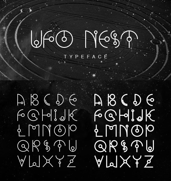 UFO-NEST-Modern--Free-Font-Download