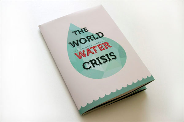 World-Water-Crisis-Pamphlet-design