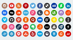 10-Stunning-World's-Largest-Free-&-Premium-Social-Media-Icons-2015