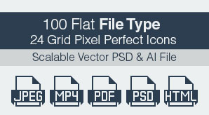 100-Flat-Pixel-Perfect-File-Typ-Extension-Icons-in-Vector-Ai-&-PSD-Format