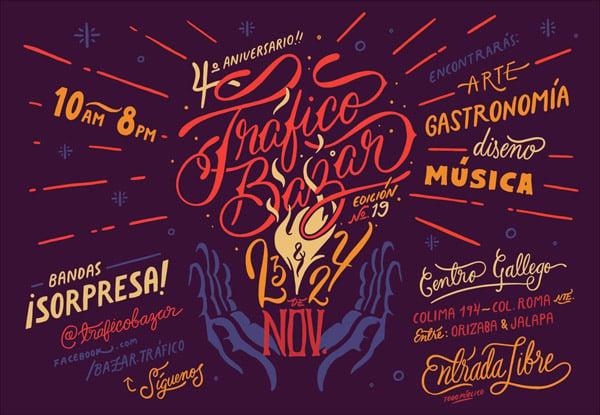 Script Typography Design Inspiration