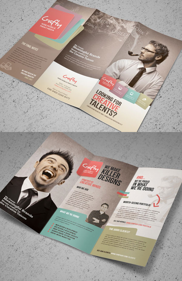 Creative-Design-Agency-Trifold-Brochure