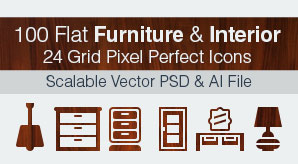 Flat-Furniture-&-Interior-Pixel-Perfect-Icons-Ai+PSD-5