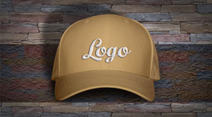 Free-Men's-P-Cap-Hat-Mockup-PSD-with-Woven-Text-Logo