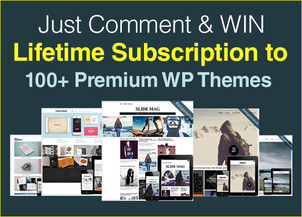 Giveaway-Lifetime-Subscription-to-100+-Premium-Responsive-WordPress-Themes-2