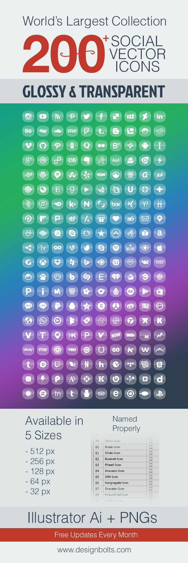 Glossy-Transparent-Social-Media-Icons-Free-Premium