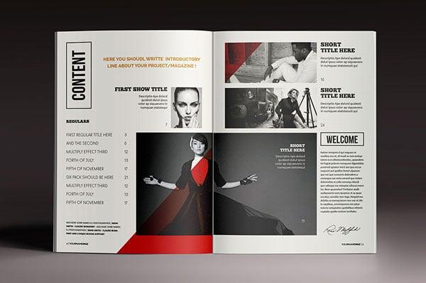 30 fresh simple yet beautiful brochure design ideas. Black Bedroom Furniture Sets. Home Design Ideas