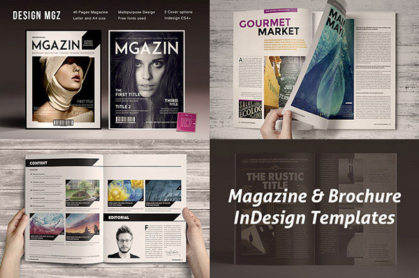Magazine-&-Brochure-InDesign-Templates