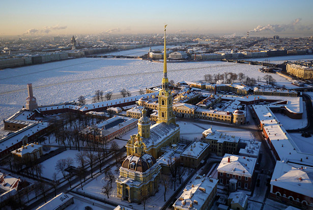 Peter-&-Paul-Fortress,-Saint-Petersburg's-founding-point