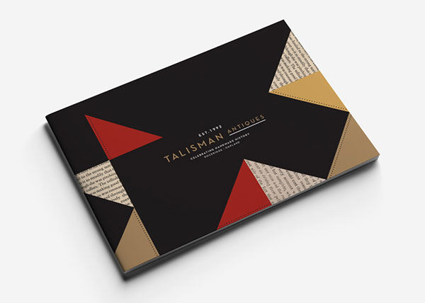 Talisman-Antiques-Brochure-Design