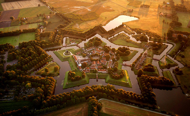 The-star-fort-at-Bourtange