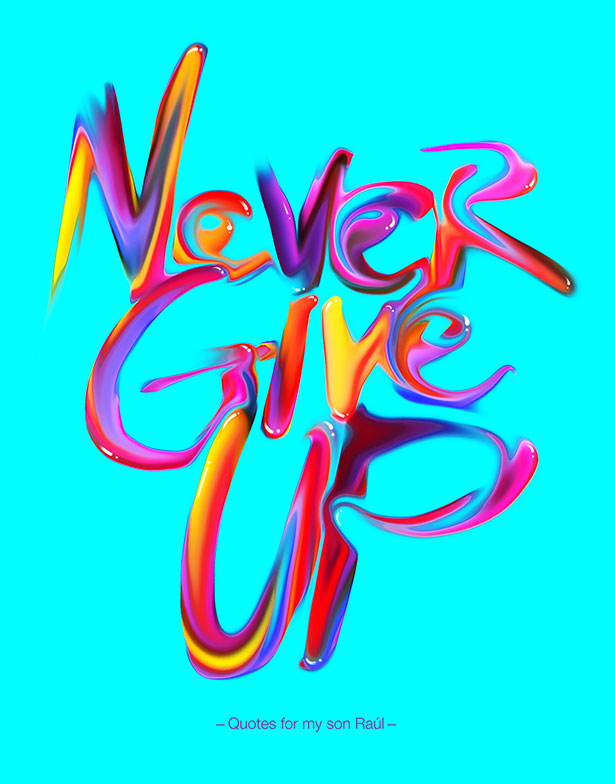 Vibrant Inspirational Typography quotes-Posters (1)
