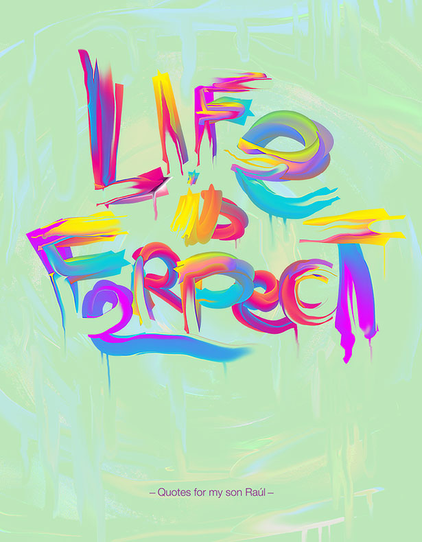 Vibrant Inspirational Typography quotes-Posters (3)