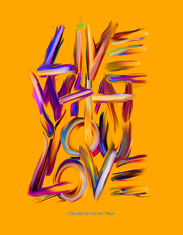 Vibrant Inspirational Typography quotes-Posters (8)