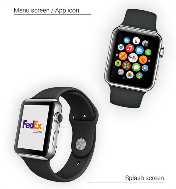 Fedex-Express-Courier-Apple-Watch-App