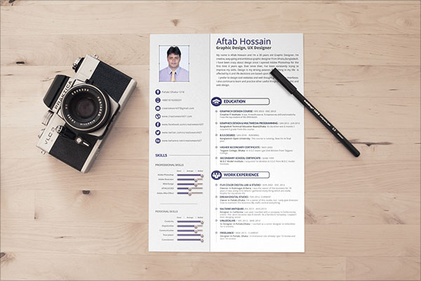 Free-2-page-Resume-Template-with-portfolio-page