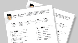 Free-Professional-Resume-(CV)-Template-for-Graphic-Designers