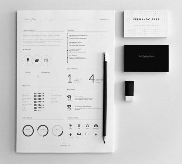 50+ Beautiful Free Resume (CV) Templates in Ai, Indesign ...
