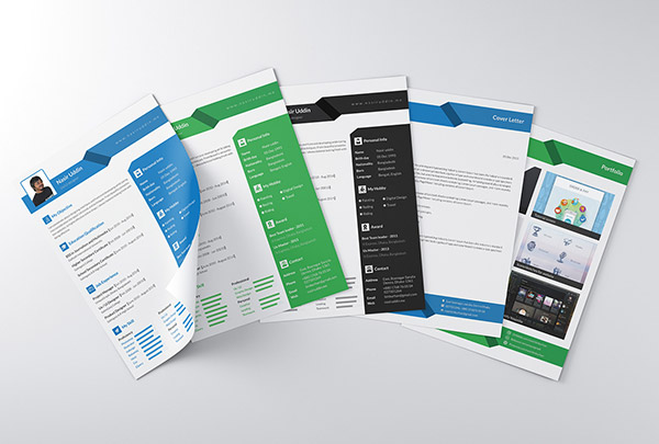 Freebie-Multi-Page-Resume