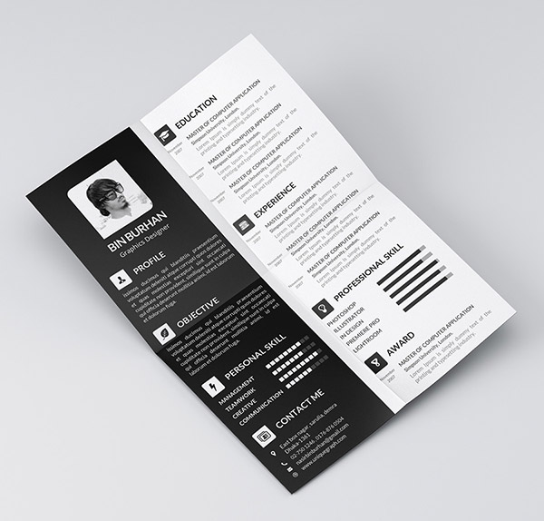 Freebie-resume-template-with-CV-2