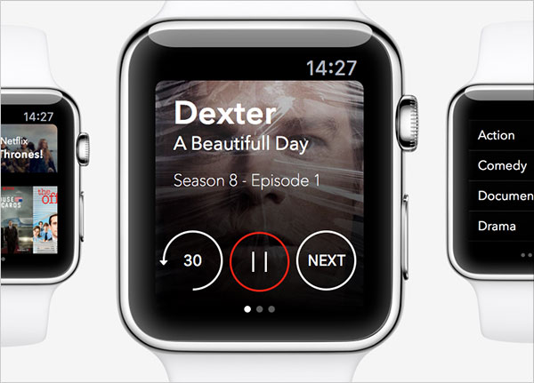 Netflix-Apple-Watch-app-Design