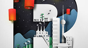 Paper-Cut-Illustrations-A-New-Trend-of-Communication-Design-by-Eiko-Ojala