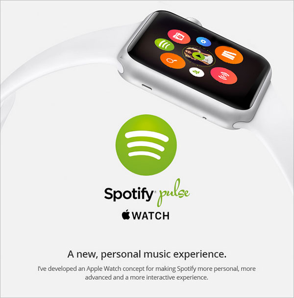 Ui Design Ideas find this pin and more on social network ui Spotify Pulse Apple Watch Ui