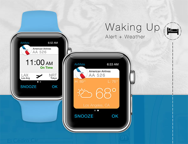 20 Travel Apple Watch App Design Ideas