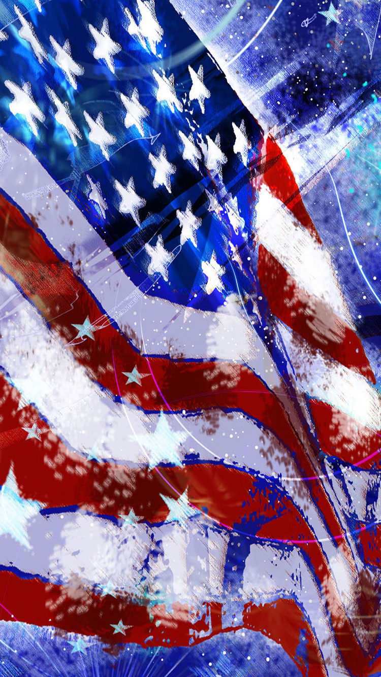 independence-day-flag-iphone-6-wallpaper