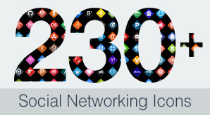 230+-Free-High-Quality-Social-Networking-Icons-Set-Free-&-Premium-Version