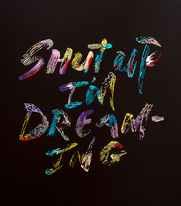 Dreaming-typography