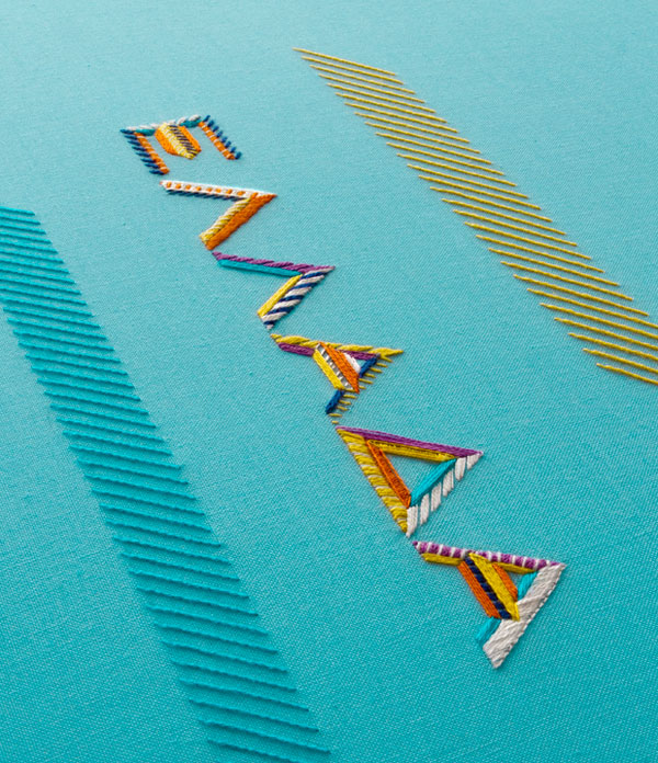Embroidered-Magazine-cover-typography