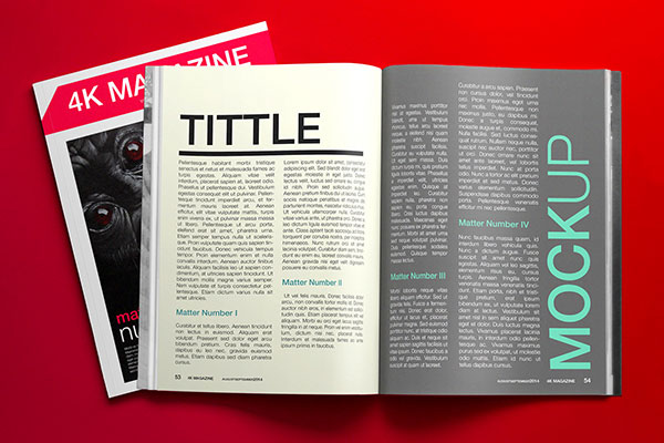 28 epic free premium mockup psd files design templates for Magazine layout templates free download